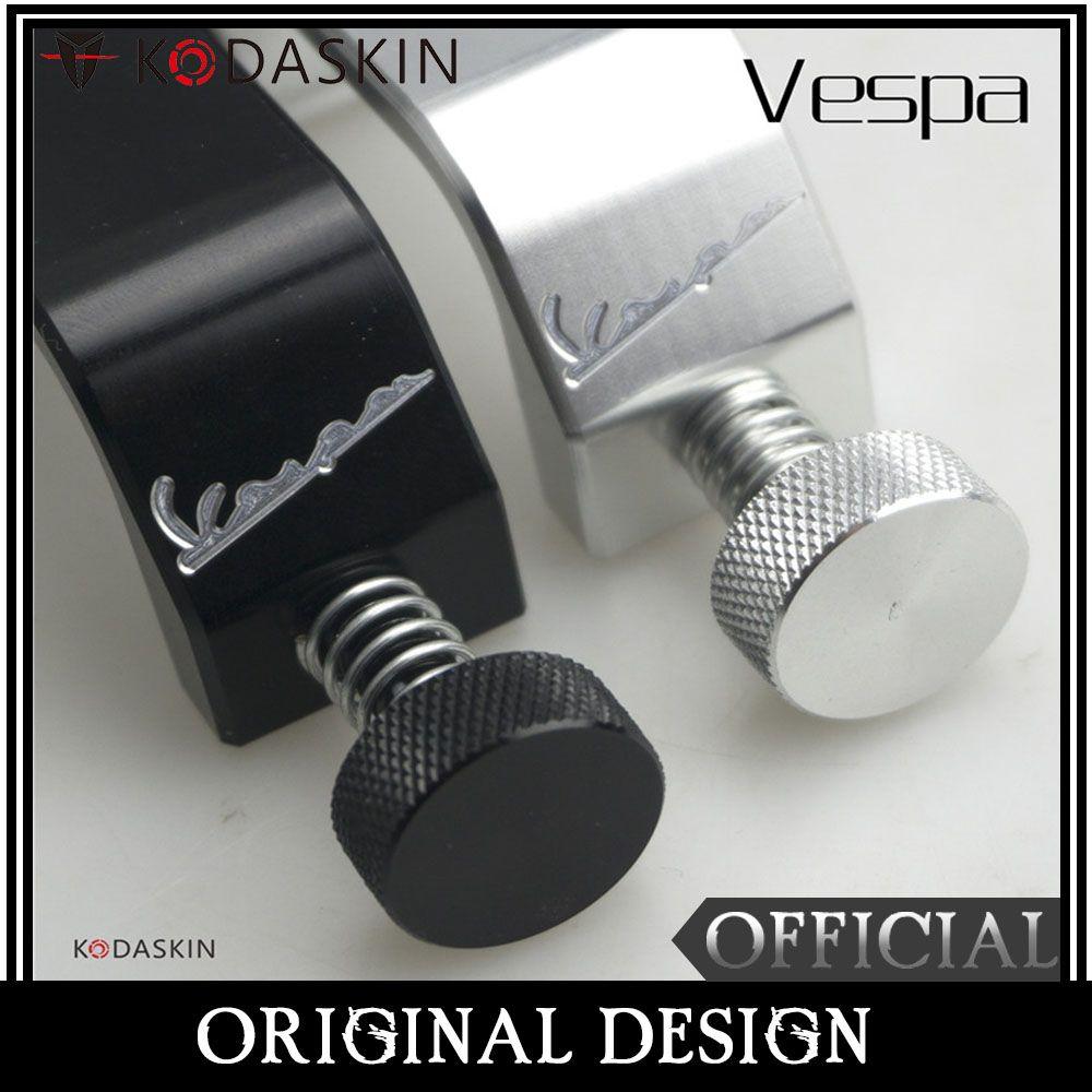 KODASKIN Bag Frame Hook Crotchet Grips Free Adjustment for Vespa All Vespa Model GTS LX LXV Sprint Primavera 50 125 250 300 GTS