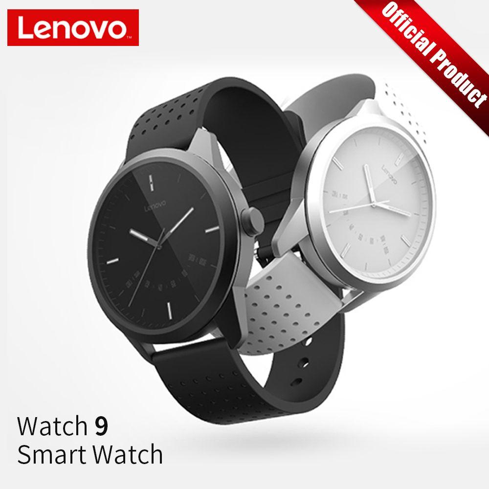 Lenovo Smart Watch Fashion Watch 9 Sapphire Glass Smartwatch 50 Meters Waterproof Heart Rate Monitor Calls Information Reminding