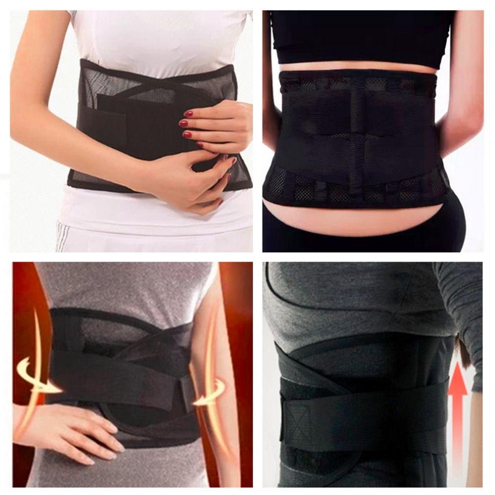 2017 qualität Taille Unterstützung Taille Schutz Dünnen Atmungsaktives Mesh Lordosenstütze Stahlplatte Schutz Gürtel für Sport Sicherheit