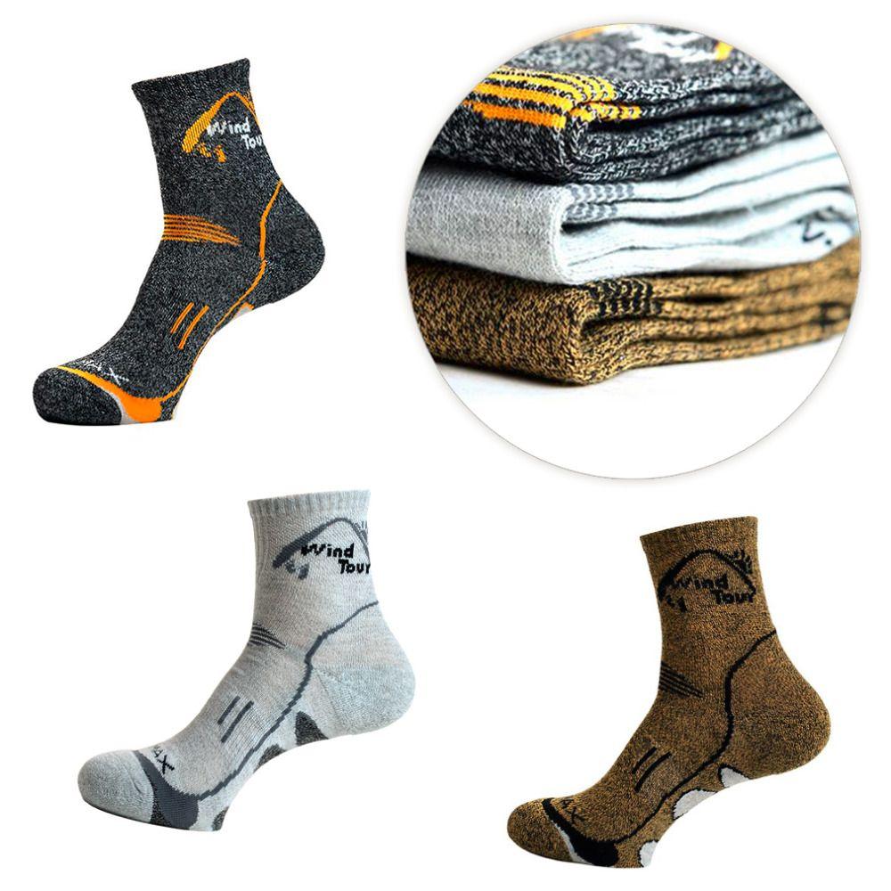Wind Tour Unisex Thermische Laufen Winter Warme Sport Socken Mens & Womens Freien Komfortable Soccer Coolmax Kostenloser Versand