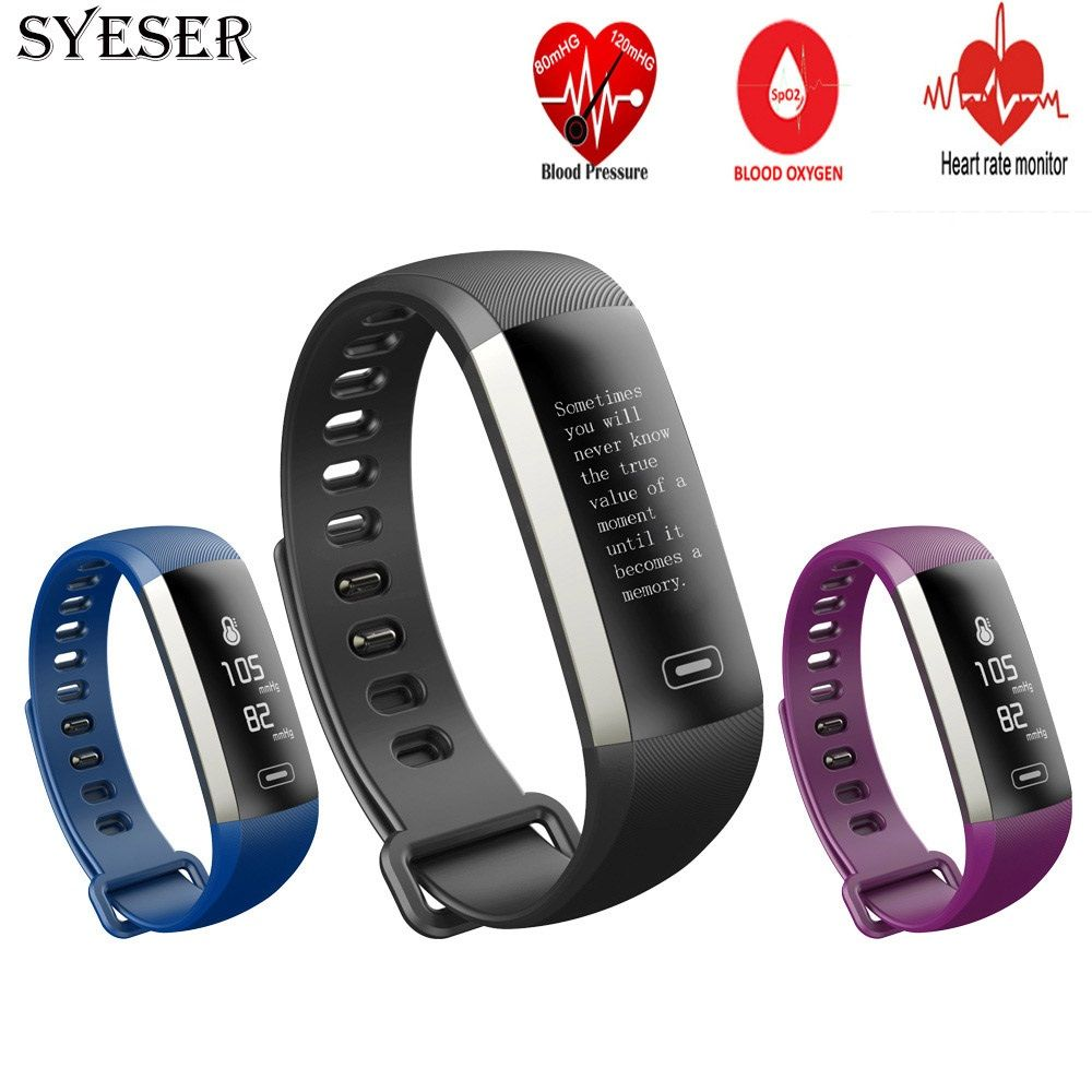 SYESER new M2 smart band blood pressure oxygen fitness bracelet heart rate monitor Wristband sport smartband pk xiomi mi band 2