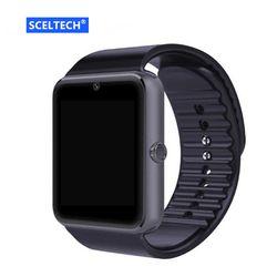 SCELTECH Bluetooth Montre Smart Watch GT08 Pour Apple iphone IOS Android Téléphone poignet Usure Soutien Sync intelligente horloge Sim Carte PK DZ09 GV18