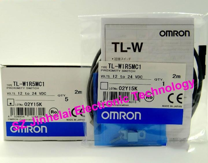 TL-W1R5MC1  New and original OMRON  Proximity sensor,Proximity switch, 2M  12-24VDC