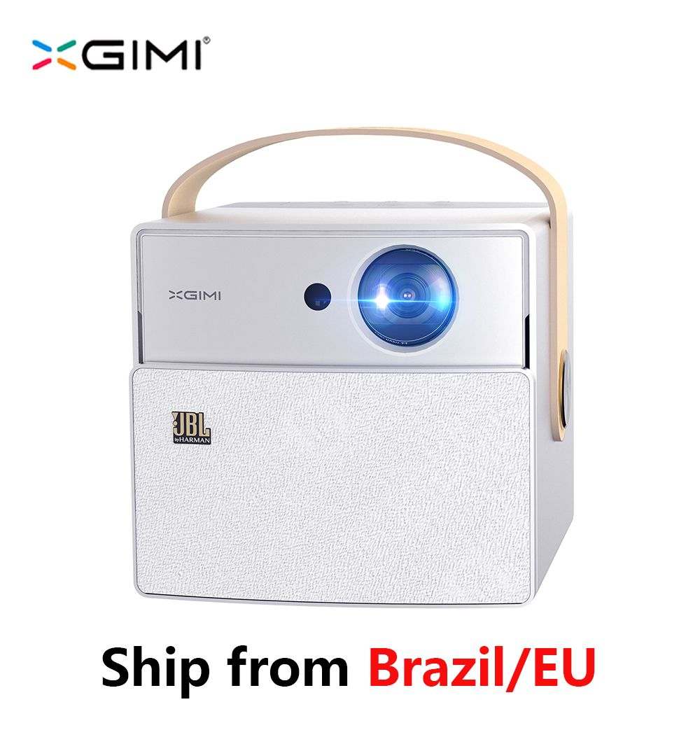 XGIMI CC Aurora Mini Portable DLP Projector Android Wifi 3D Support 4K HD Android OS Home Theater