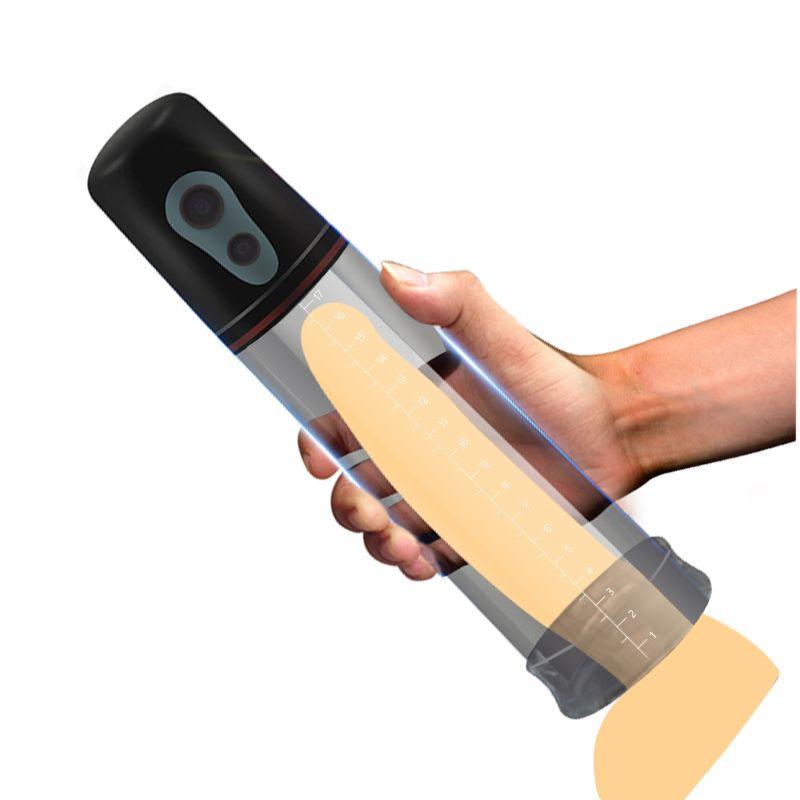 Automatic Penis Enlargement Vibrator for Men Electric Penis Pump,Male Penile Erection Training,Penis Extend Sex Toys Shop