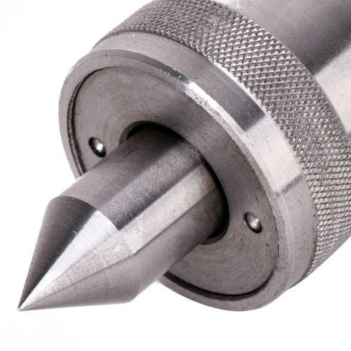 Mandrin de tour de travail des métaux à Center de vie conique rotatif de précision en carbure Mt2