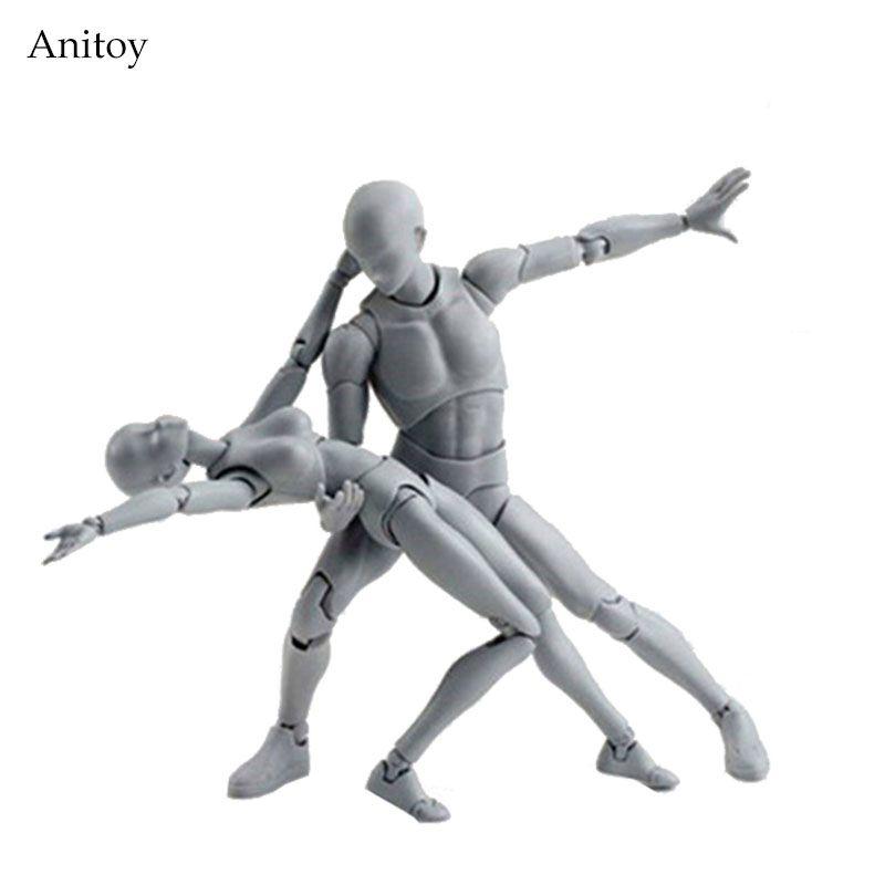SHFiguarts тела Кун/тела Чан тела-Chan тела-кун серый Цвет Ver. Черный ПВХ фигурку Коллекционная модель игрушки