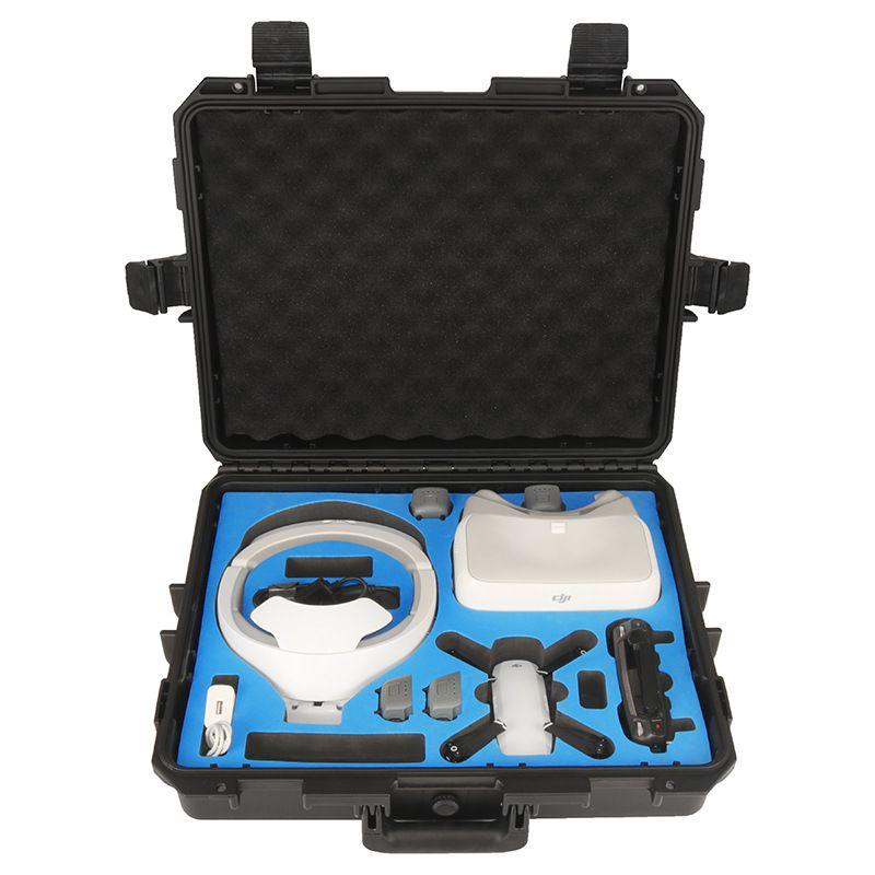 Safety Transport Travel Hardshell Drone Case For DJI Goggles VR Glasses/MAVIC Pro Bag for DJI Spark Box Storage Accessories