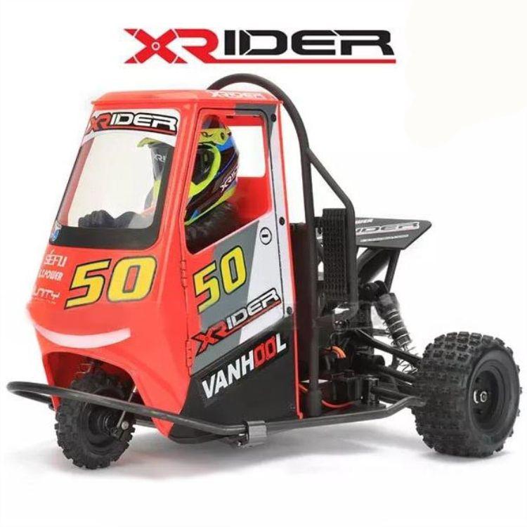 RC Auto Fernbedienung Auto 2,4G X-Reiter 1/8 Piaggio Ape 1:8 3WD Kinder Batterie Powered Drift Autos RTR