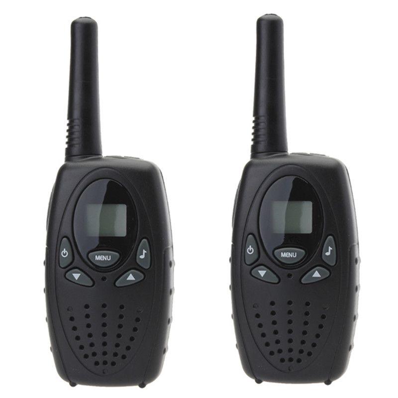 Hot Sale High Quality 2pcs 0.5W Two Way  LCD Handheld Radio Mini Walkie Talkie Pair for Children Toy