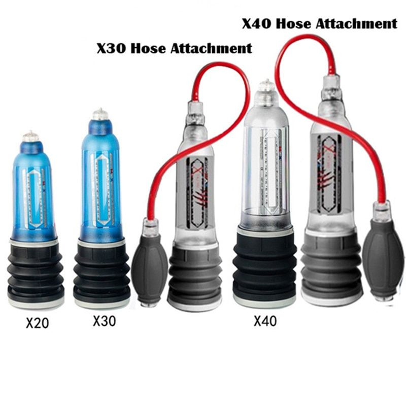 Hydrothérapie X20 X30 X40 Xtreme pompe à pénis pénis agrandissement bite Pro Extender pompe à vide pour hommes Dick construction assistance