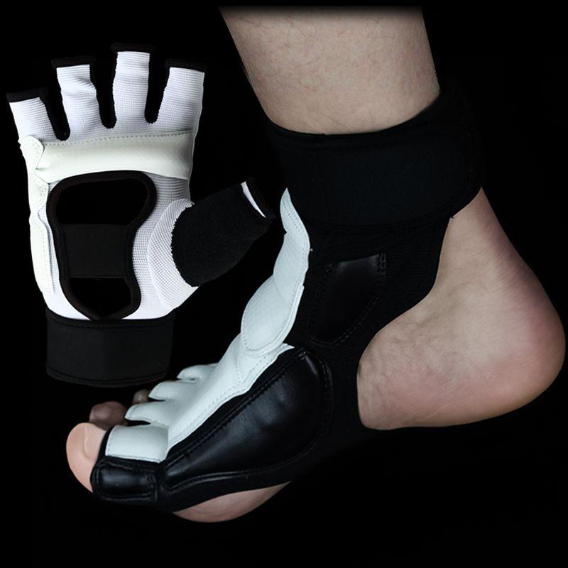 Тхэквондо Прихватки для мангала каратэ рук протектор перчатки и ног охранника Носки для девочек спарринг Шестерни для взрослых детей тхэкв...