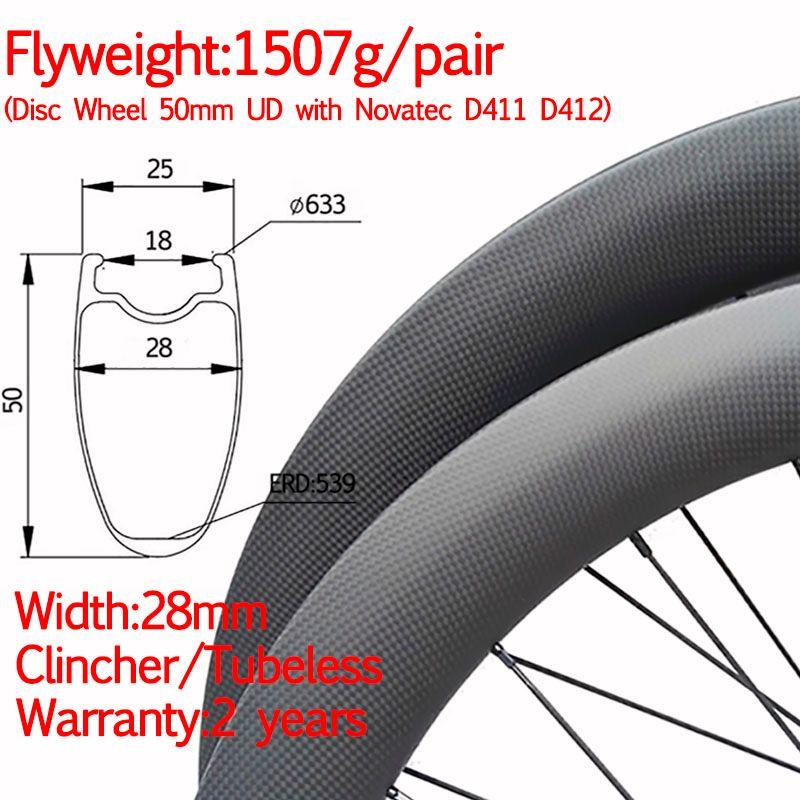 Super licht breite 28mm carbon rennrad disc rad klammer tubeless gerade pull cyclocross laufradsatz thru 12*100 12*142