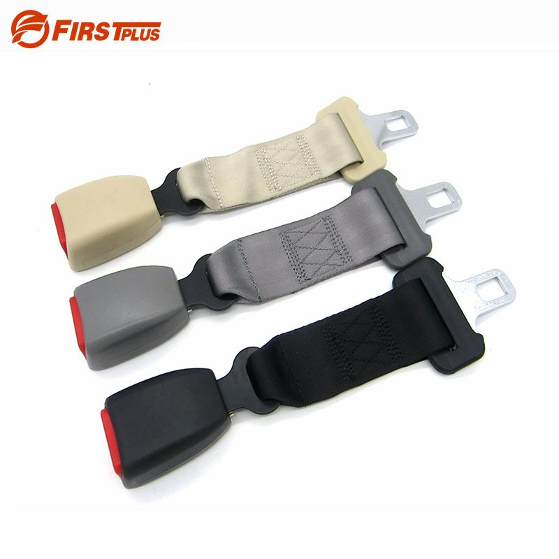 E24 Car Seatbelt Extension Safety Seat Belt Extender For Cars Auto Belts For Child - Black Gray Beige