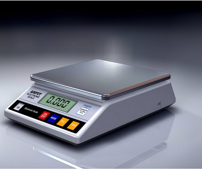 7.5kg x 0.1g Digital Precision Electronic Laboratory Balance Industrial Weighing Scale Balance w/ Counting