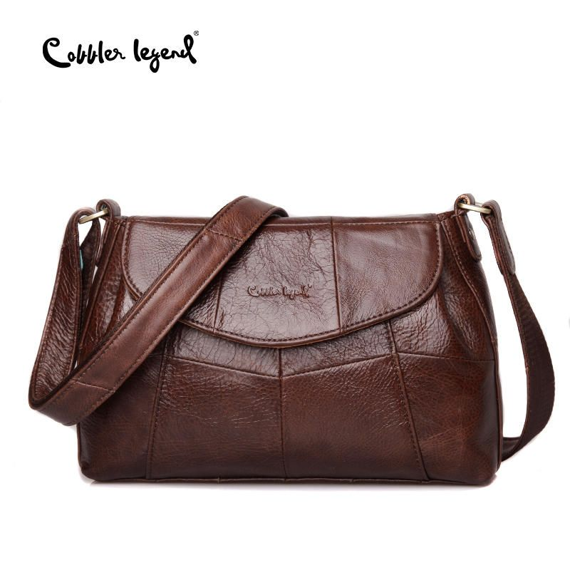 Cobbler Legend Elegant Women Messenger Bags For Women 2017 Crossbody Bags For Women Shoulder Genuine Leather Bags Baobao Brand