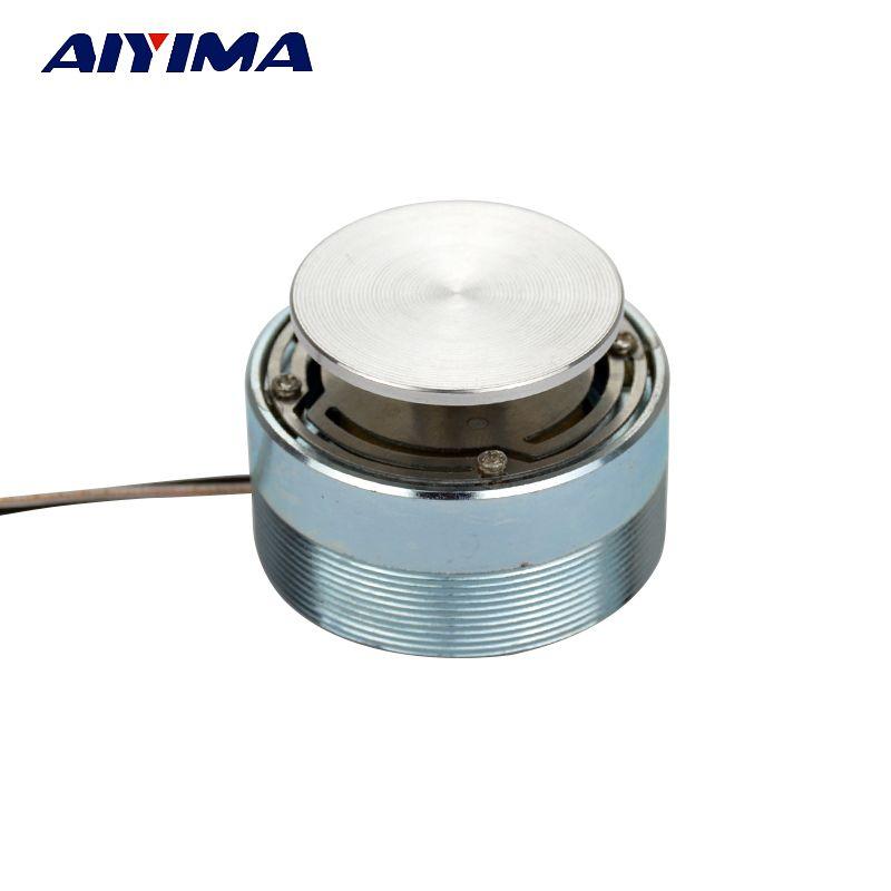 AIYIMA 1 pc gamme complète haut-parleur 20 W 4/8ohm 44mm Audio Vibration aigus corne HiFi Tweeter unité résonance haut-parleur stéréo haut-parleur