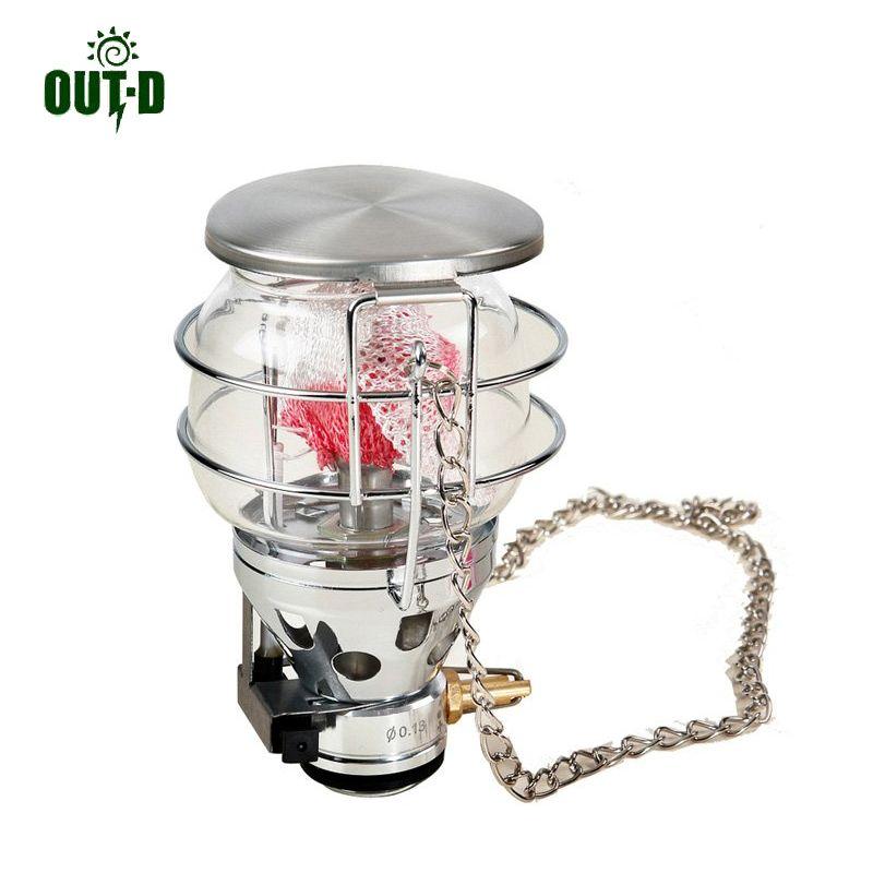 OUT-D 600 W lampe à gaz Camping poêle lampe extérieure gaz lumière ultra-léger seulement 187g T4