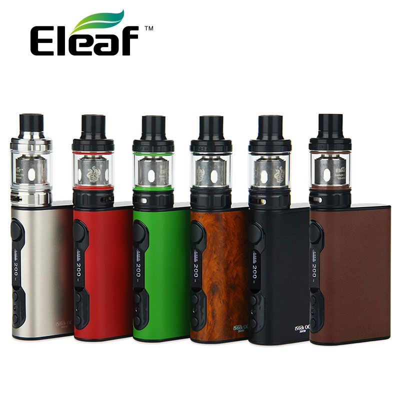 Original Eleaf iStick QC 200W with Melo 300 Kit 5000mAh VW/TC w/ Powerful ES coils 0.17ohm Electronic Cigarette vs istick Pico