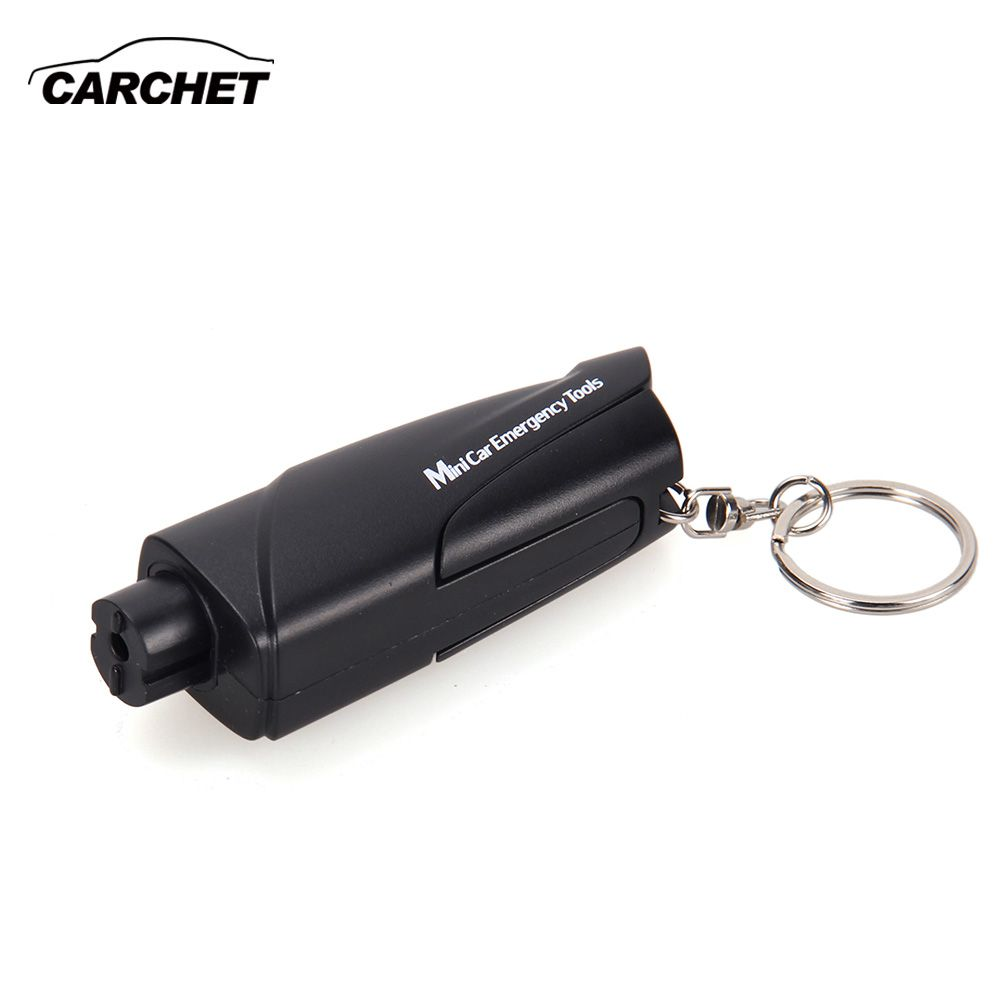 CARCHET 3 in 1 Multi Car Emergency Hammer Car Belt Cutter with Trailer Tool Key Holder Mini Car Emergency Tools
