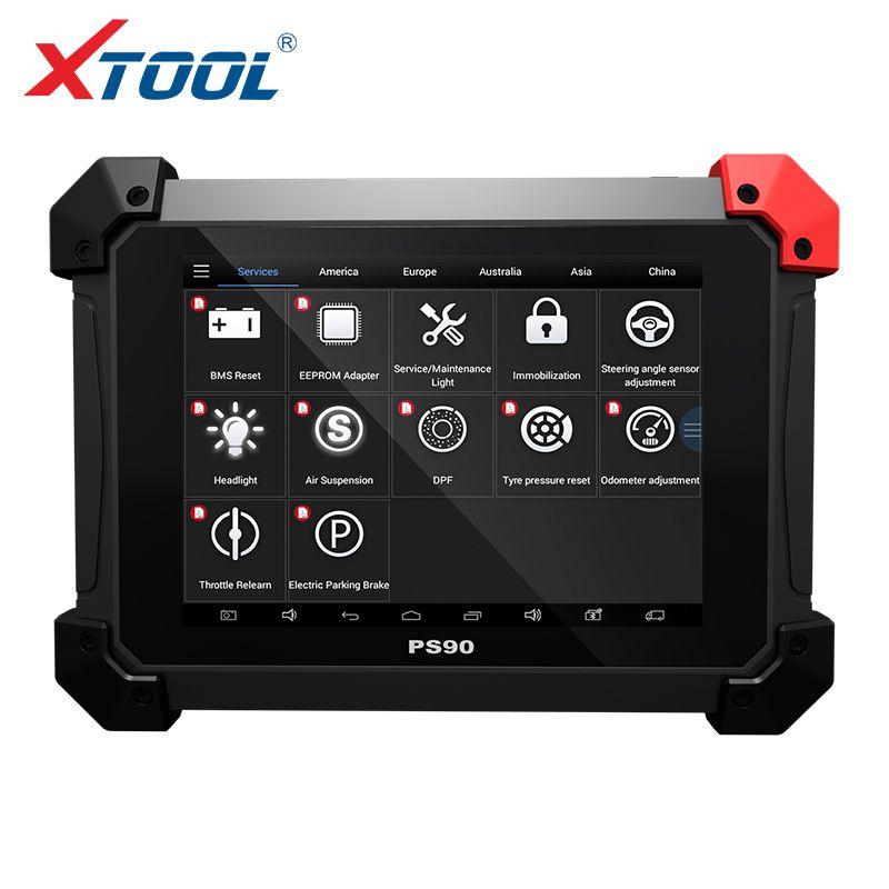 XTOOL PS90 Automotive OBD2 Auto Diagnose werkzeug Mit Schlüssel Programmierer/Kilometerzähler Correctio/EPS Unterstützung Multi Auto modelle Mit wifi/BT