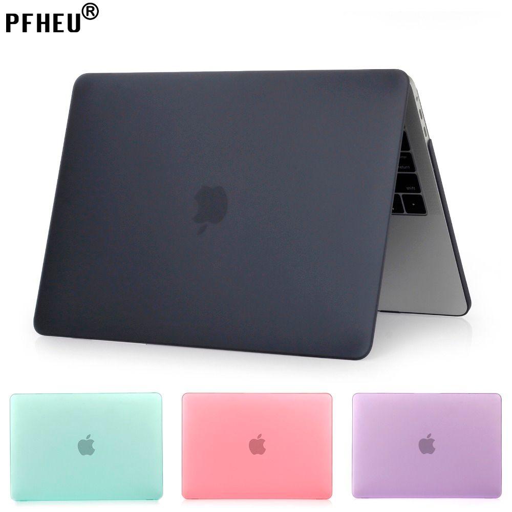 PFHEU, Mat Mallette Pour Ordinateur Portable Pour Apple Macbook Pro Retina Air 11 12 13 15, air 13 A1369 A1466, Nouveau pro 13 15 A1706 A1708 A1707 shell