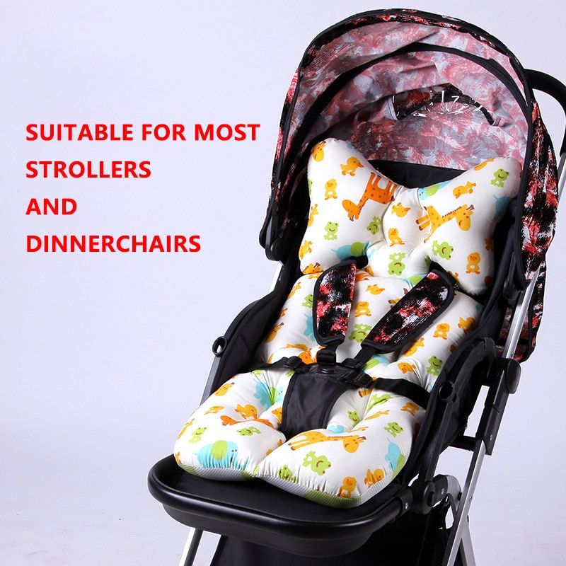 Baby stroller cotton cushion head support umbrella Stroller accessories Pram Pad baby carriages mats baby car seats newborn kids