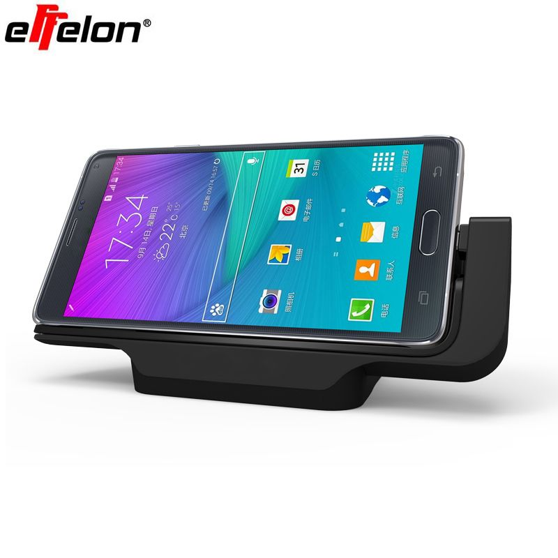 Effelon Horizontal Desktop Charging Dock Phone Stand Holder Micro USB Charging Dock Station Charger For Samsung Galaxy Note 4