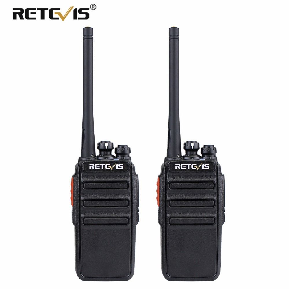 <font><b>2pcs</b></font> Retevis RT24 PMR Walkie Talkie License-free 0.5W 16CH UHF 446 PMR446 Scrambler VOX Handheld Two Way Radio Hf Transceiver