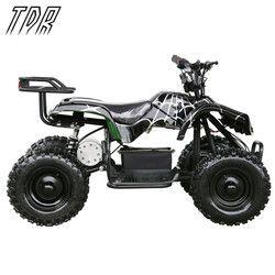 TDR Children 24V 500W Black  Electric Ride On Mini Quad ATV Black Buggy Cool Off-road Go Karts HHY