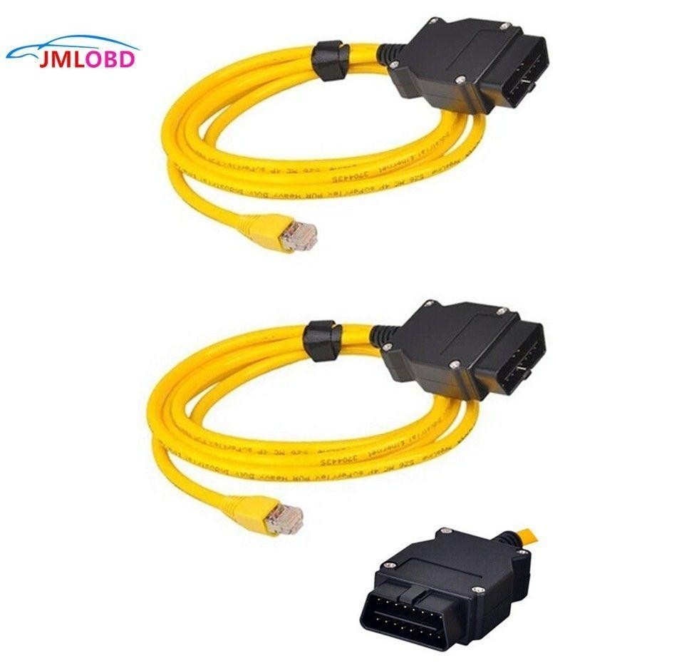 Top Bewertet ESYS DATEN Kabel Für BMW ENET OBD OBDII diagnose interface E-SYS Icom Codierung für bmw F serie Enet kabel ohne CD