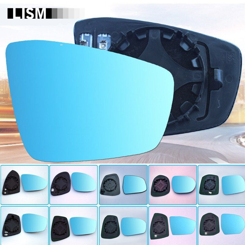 Side Mirror Wide Vision Rearview Mirror AntiGlare Car Mirror Retrovisor Blue Rear View Mirror Original Heated Outside Exterior