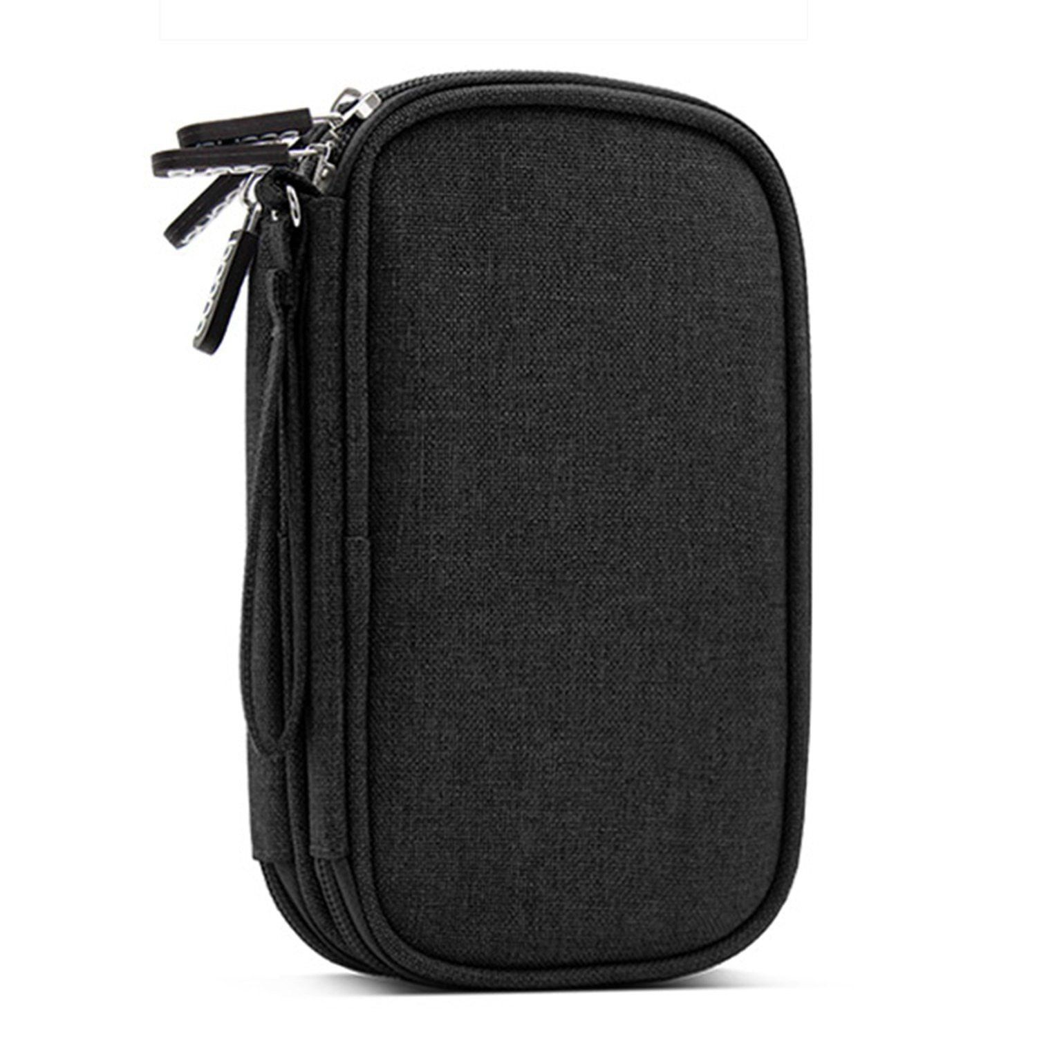 Charging treasure protection cover millet 2 Rome Shi 10000/20000 Ma mobile power storage bag drop black