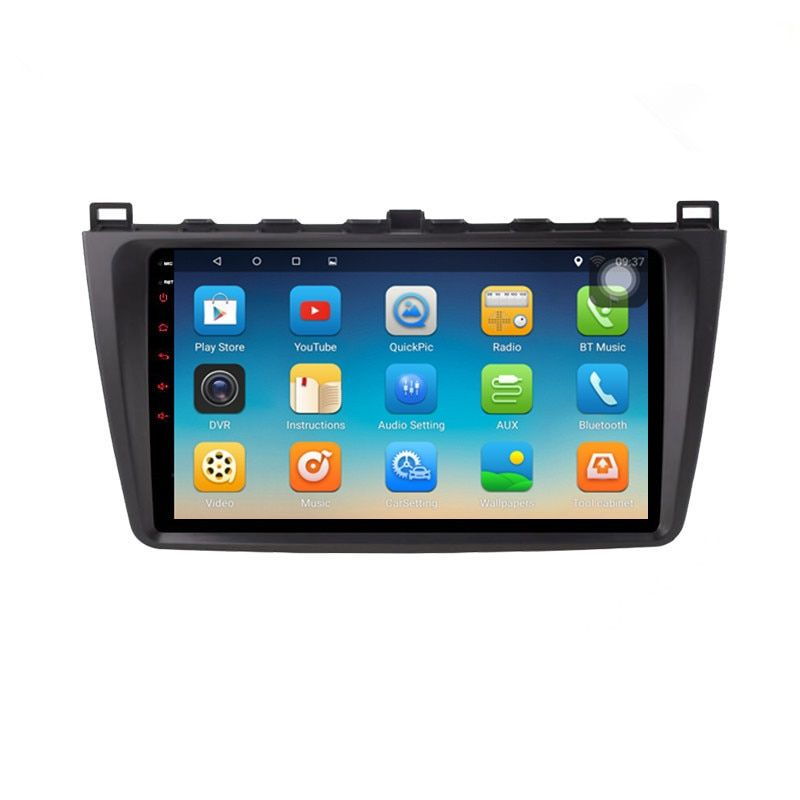 CHOGATH 2 din android 7.0 CAR GPS for Mazda 6 ruiwing 2010 -2014 autoradio navigation head unit multimedia with canbus