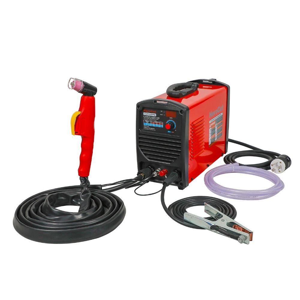 IGBT Pilot Arc Cut50DP Dual Voltage 190V-250V Plasma Cutter Arcsonic HeroCut Plasma cutting machine