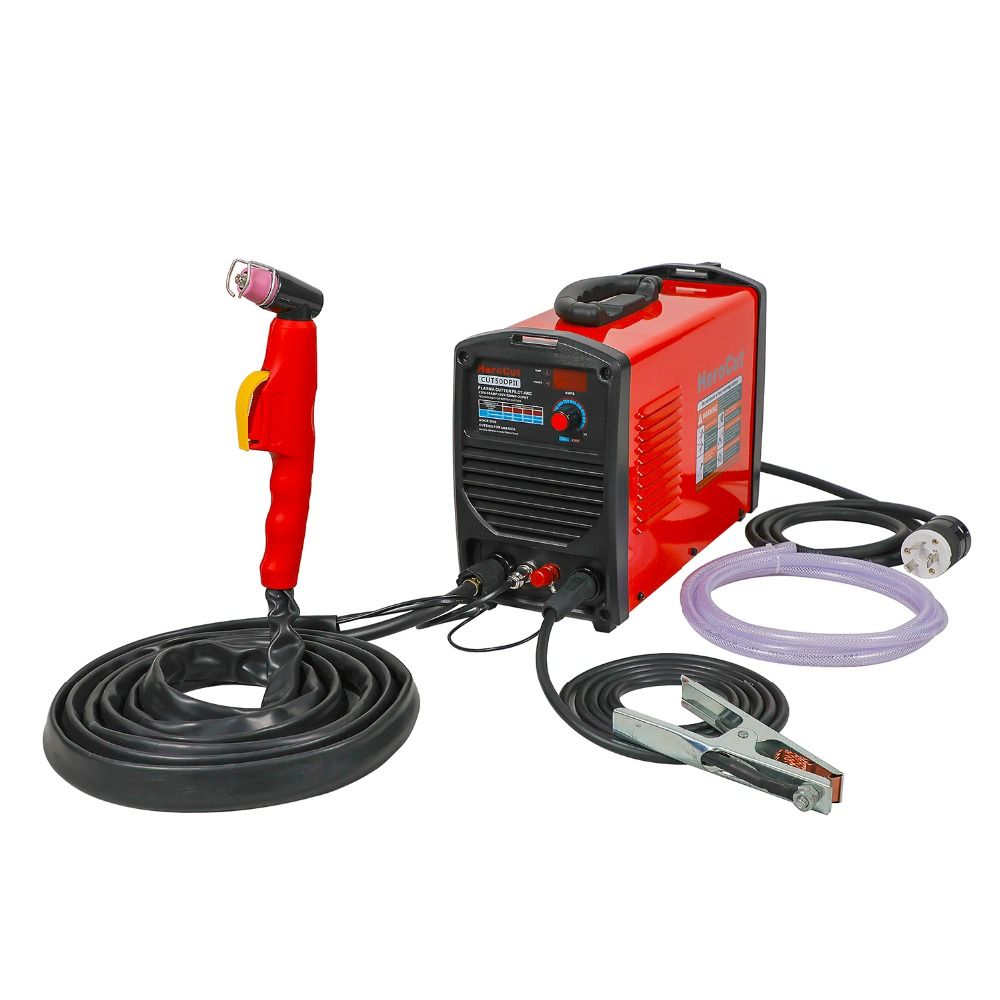 Pilot Arc Cut50DP Dual Voltage 190V-250V Plasma Cutter Arcsonic HeroCut Plasma cutting machine