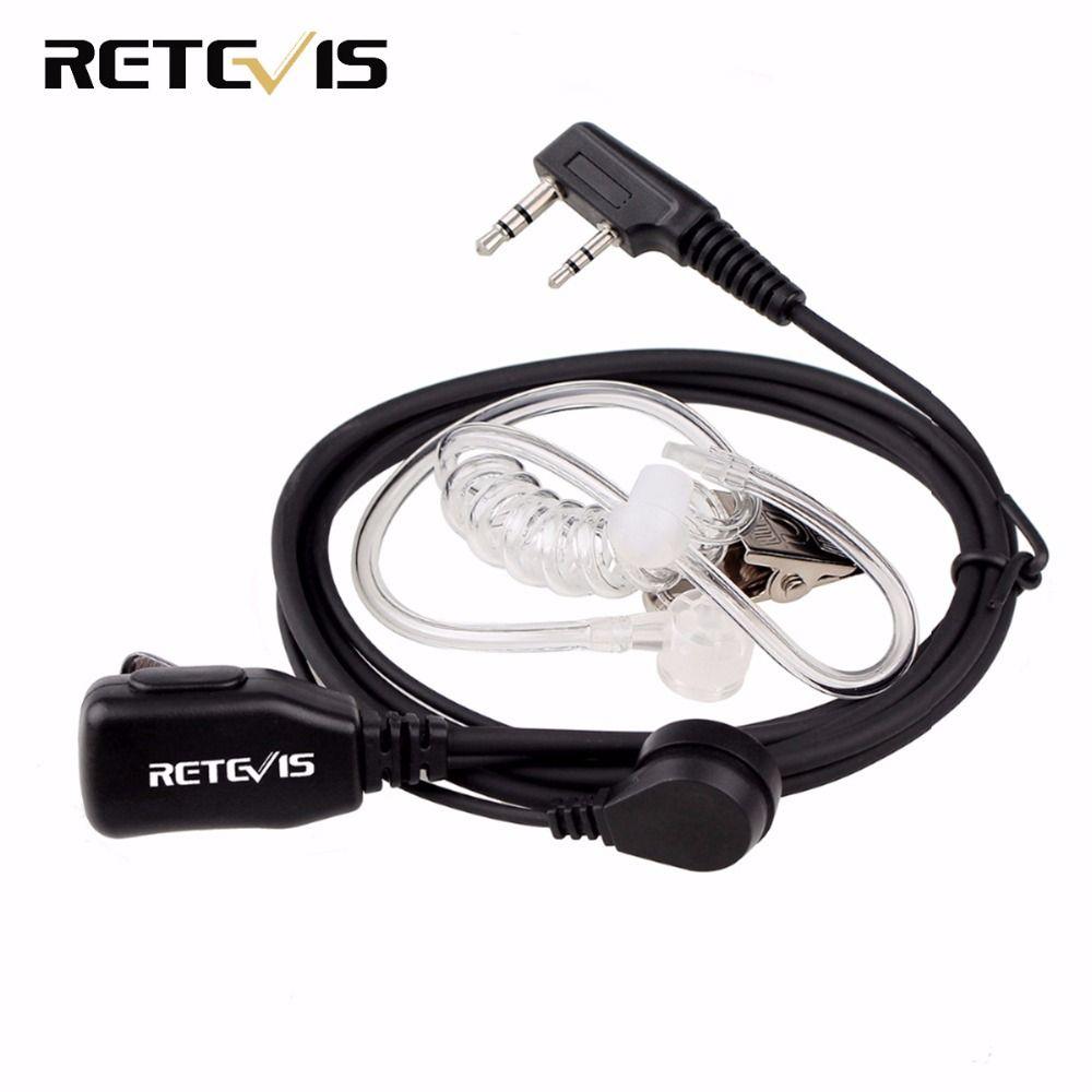 Casque d'écoute talkie-walkie pour micro KENWOOD BAOFENG UV-5R BF-888s chape H777 RT22 TYT HYT talkie-walkie C9003A