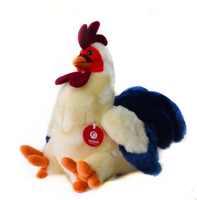 30 cm Simulation coq jouets en peluche animaux doux poulet jouets en peluche poupées pour enfants cadeaux de noël/anniversaire livraison gratuite