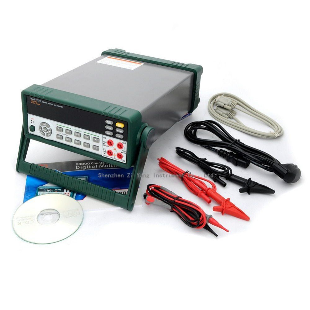 MASTECH MS8050 53000 Counts VFD Display Autoranging Bench Top Multimeter High Accuracy True RMS RS232C