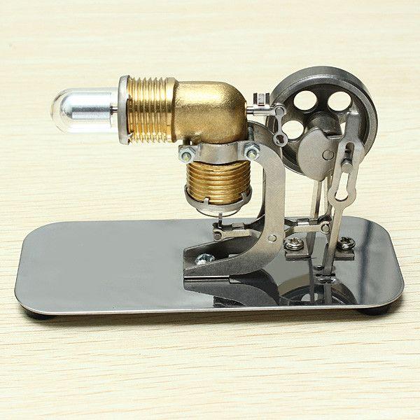 Двигатель Стирлинга подарок на день рождения мини модель головоломка научных экспериментов оборудование высокой температуры физическая и...