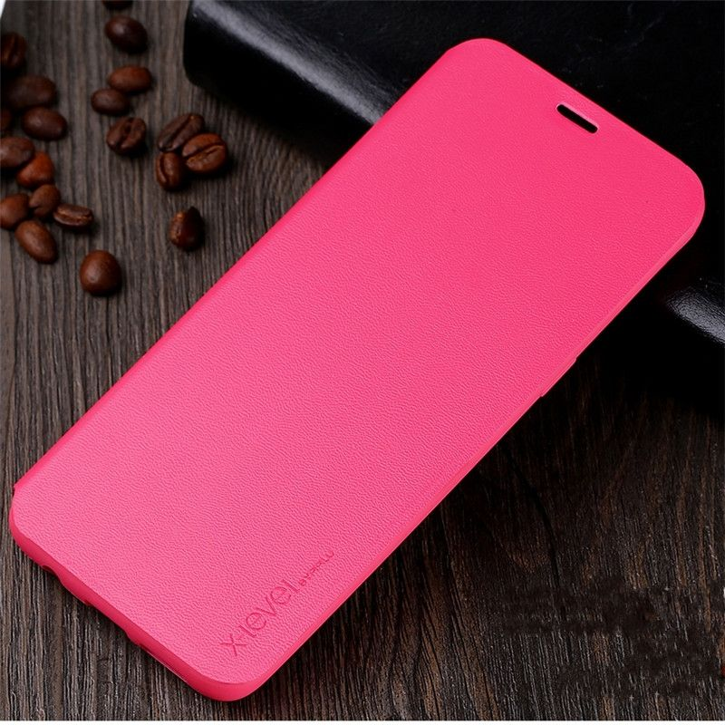 Original X-Level Business Style PU Leather Luxury Stand Case For Samsung Galaxy S8 Back Cover Cases