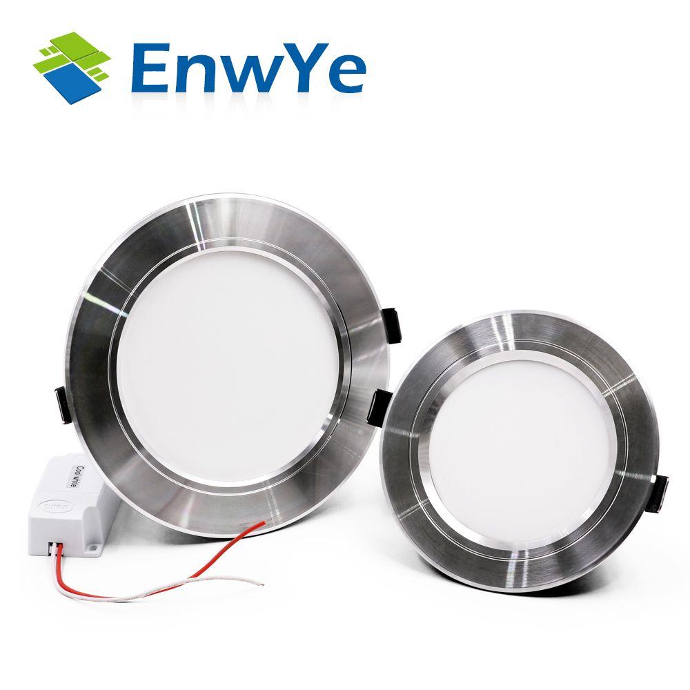 EnwYe Silber high power led-downlights deckenleuchte 5730SMD 10 Watt 15 Watt 20 Watt 1110 V 220 V led lampe led-licht