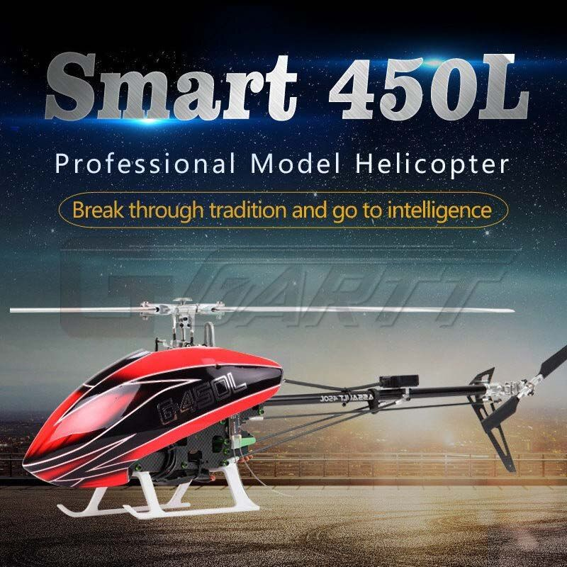 Helicopter Smart Model Heli Schweizer 300C 450L 6CH RC High Simulation Electric gift No Aileron Toy