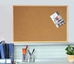 Tablero de corcho de la Oficina colgante de madera tablón 30X40 cm