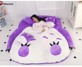 Vescovo Pourpre Princesse Totoro paresseux matelas Unique de bande dessinée Confortable tapis Belle creative petite chambre canapé lit chaise