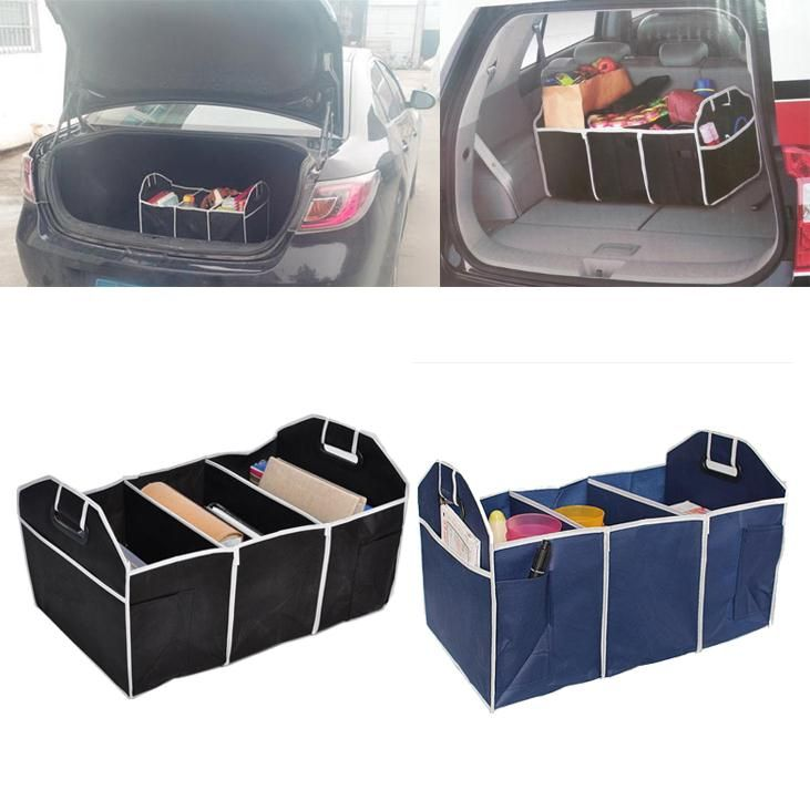 Good Store New Multipurpose Trunk Pouch Car Glove Box Storage Cubby Box Collapsible Tidy Car Bag auto Organizer hot selling