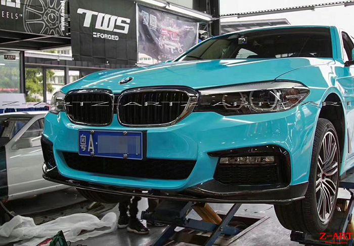 Z-ART MP carbon fiber body kit for BMW G30 carbon fiber tuning kit for BMW all new 5 series 2017