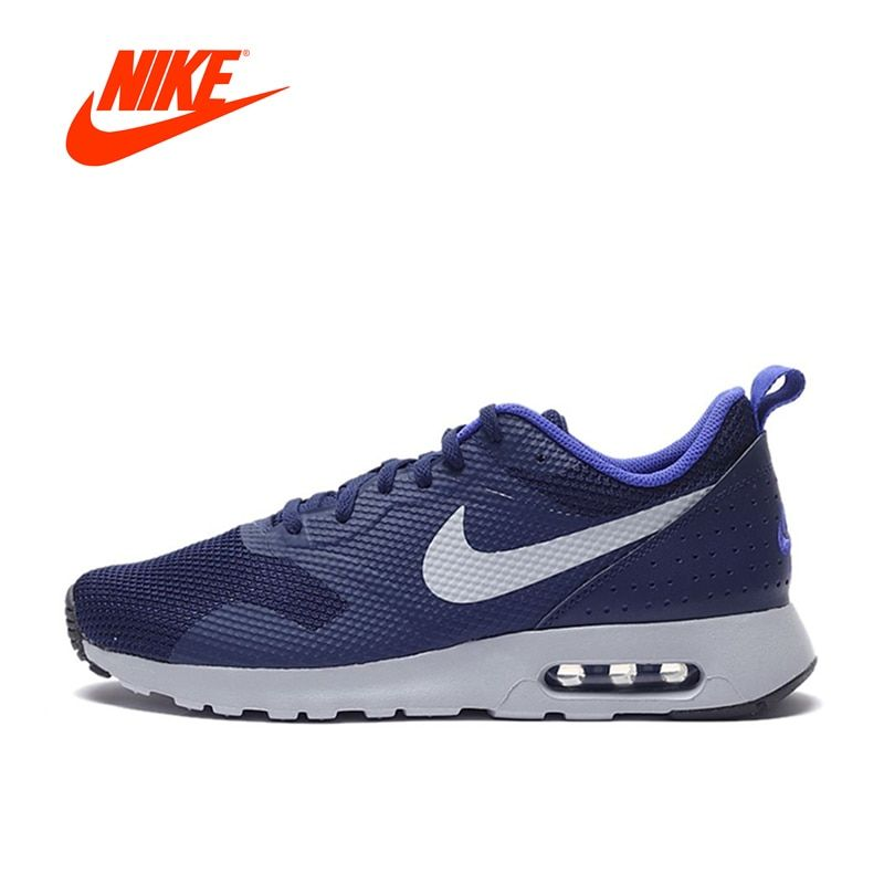 Original New Arrival Authentic Nike Air Max TAVAS Men's Breathable Running Shoes Sneakers