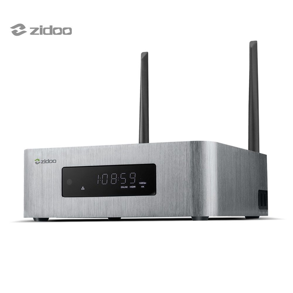 ZIDOO X10 Smart TV Box Andoid 6.0 Quad Core 2G/16G Dual Band 2.4 5GB WIFI 1000M LAN HDR USB 3.0 Media Player Set-top Box