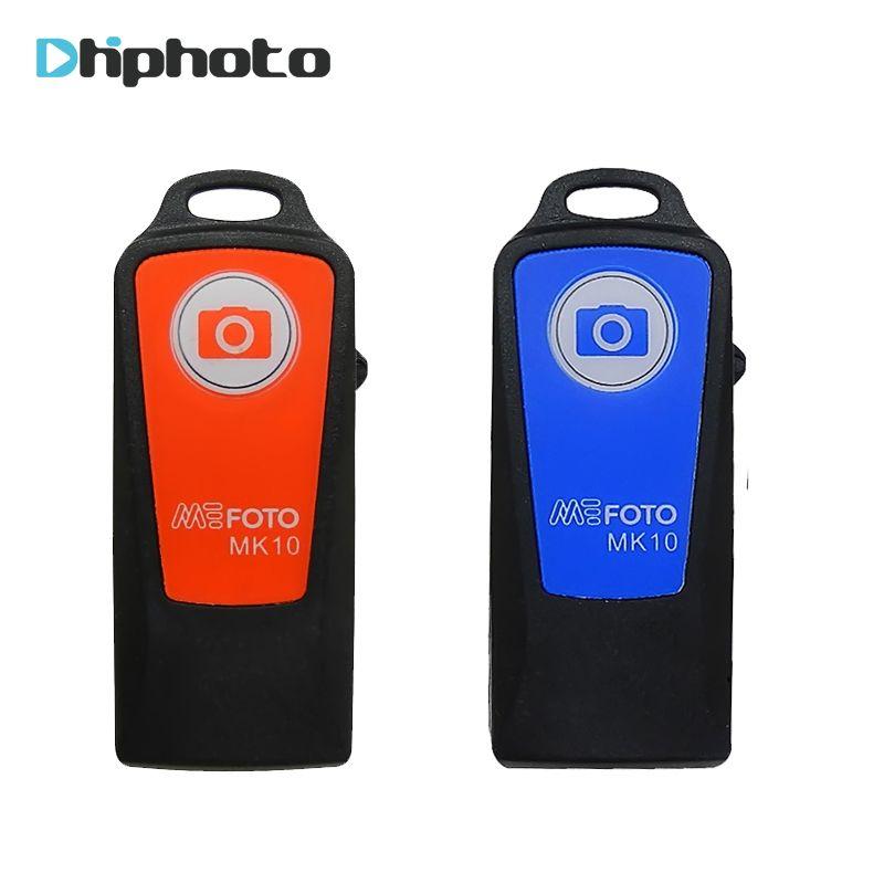 Original Benro Wiederaufladbare Bluetooth Auslöser Fernbedienung für Benro stativ Selfie Stick MEFOTO MK10 auf lager